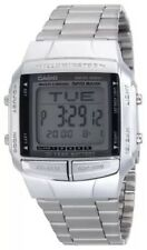 BRAND NEW CASIO STEEL DATABANK WATCH DB360-1AV  RRP £59 **UK SELLER**