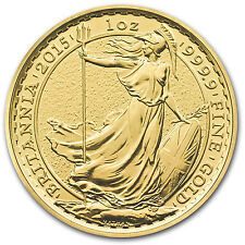 2015 Great Britain 1 oz Gold Britannia BU - SKU #86220