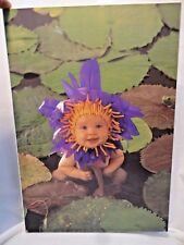 Anne Geddes Picture Wall Hanging Water Lily Baby for Baby's Room Nursery Decor