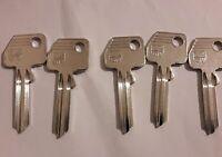 5 X GTV 1 /GTV Key Blanks/ Schlüsselrohlinge