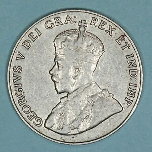 1926 Canada 5 Cents coin, XF, KM# 29