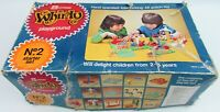 Winfield Whirly Playground No. 2 Starter Set Vintage Toy Boxed Cogs Rotates Game