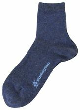 Burlington Womens Ladywell Fashion Socks - Denim Blue