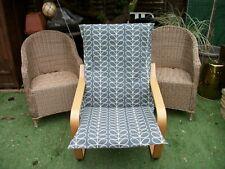 Handmade COVER for IKEA ALME poang chair @ ORLA KIELY @ COOL GREY LINEAR STEMS#1