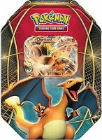 Pokemon Card Game EX Power Trio Charizard EX TIN Trading Cards DENT Sealed Packs