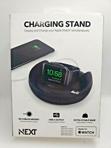 NEXT Apple Watch Charging Stand for Apple Watch  N-1901  - Black Finish
