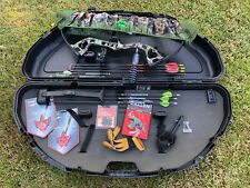 Bear Archery Cruzer Lite RTH 45# Right Hand Shadow Youth Bow Package Arrows Case
