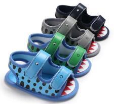 Newborn to 18 Months Baby Boy Crib Shoes Infant Animal Pattern Summer Sandals