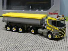 Herpa Camion Scania CS 20 TOPL//aerop SZM Blu m Cerchi cromo