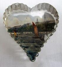 Antique Victorian Souvenir Glass Paperweight - The Shubbery Southend - Essex