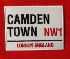 CAMDEN TOWN NW1 LONDON CITY MARKET SOUVENIR ENGLAND UK BADGE IRON SEW ON