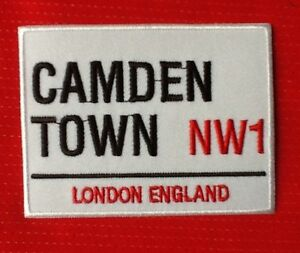 Camden Town NW1 LONDRE ville Market souvenir angleterre RU BADGE repasser
