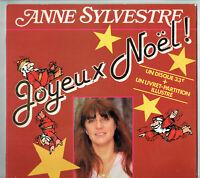 33T Anne SYLVESTRE Vinyle LP JOYEUX NOËL Enfant MERCREDISQUE GEANT 3 N°133035