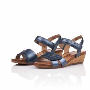 Remonte by Rieker Women's R4450-14 Comfort Sandals - Blue