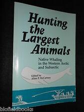 Jagd die größten Tiere: Native Walfang in westlichen arktischen und subarktischen, 1985