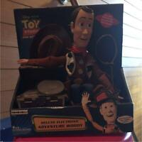 Medicom Toy Toy Story Deluxe Electronic Adventure Woody Figure Free Shipping