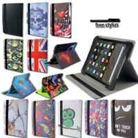 "For amazon Kindle Fire 7"" HD8 Tablet - Smart Leather Rotating Stand Cover Case"