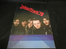 Judas Priest 1978 Japan Tour Book Concert Program Rob Halfford NWOBHM