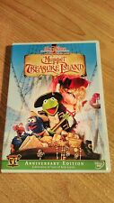 Disney MUPPET TREASURE ISLAND Jim Henson DVD ~  Kermit Piggy