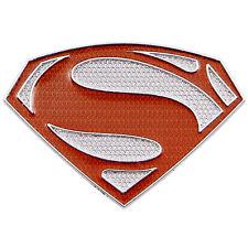Premium Super Man S Symbol Emblem Auto Car Truck 3D Super Man Metal Red Decal