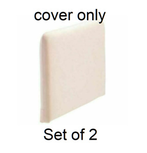 2x IKEA SODERHAMN Armrest Cover Samsta Light Pink (Slipcover Only) 103.282.95