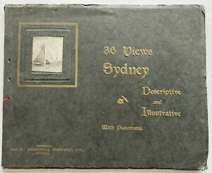 1905 Sydney - 36 Very Early Views, Large Size, Original, FREE EXPRESS W/WIDE