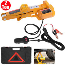 2 Ton Capacity 12V Electric Automotive Car Floor Jack Lift Stand Garage Stable