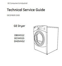 GE Dryer Service & Repair Manual