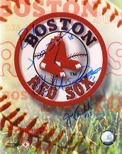 BOSTON RED SOX 2004 TEAM Original SIGNED Autographed 8x10 Photo COA #4