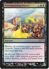 Overwhelming Forces PROMO PREMIUM / FOIL Judge Gift - Mtg Magic -