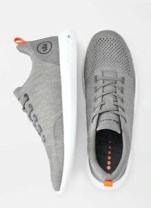NWB Men Peter Millar Hyperlight Glide Sneaker 2.0 - Titanium #MS20EF03