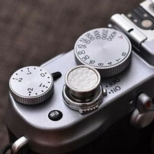 Real Leather 12mm Soft Release Shutter Button for Fuji X-E2 XT10 x30Easy to Use