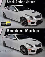 2016 2017 2018 2019 Cadillac ATSV ATS-V SMOKED Front Side Markers