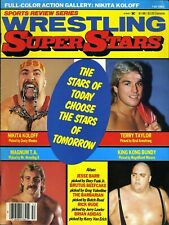 NIKITA KOLOFF Wrestling Superstars Magazine Fall 1985 KING KONG BUNDY/MAGNUM TA