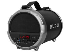 "Bluetooth Portable Wireless Speaker 2 x 2"" Subwoofer:1 x 4"" 100W BLOW Bazooka UK"