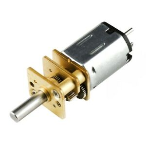 30:1 Micro Metal Gearmotor HP 6V with Extended Motor Shaft 1.6A - 1000rpm