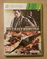 xBox 360 game - Ace Combat - Assault Horizon + CD Soundtrack + Instructions