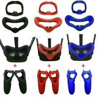 Silicone Light-Blocking Eye Mask Cover + Handle Cover for Oculus Quest VR sets