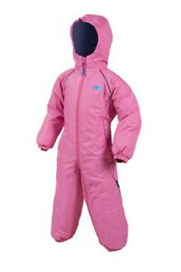 Target Regatta Girls Kids Padded Waterproof All In One Rain Suit.6/12 RRP £50
