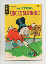 Walt Disney's Uncle Scrooge #87 - Awesome Cover - (Grade 8.0) 1970