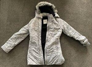 Lorna Jane Long Fur Hooded Fleece Warm Coat. Never Worn. Beautiful Detail!
