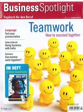 Business Spotlight, Heft 3/2015: Teamwork - How to succeed +++ wie neu +++