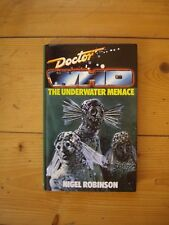 Doctor Who The Underwater Menace *1988 W H ALLEN HARDBACK, NOT EX-LIBRARY*