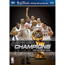 NBA Champions 2014 - San Antonio Spurs [DVD] NEU Tim Duncan, Highlights, LeBron