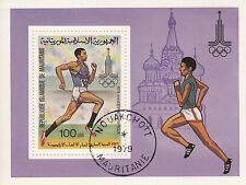 Mauretanien - Block /  Olympia 1980 Moskau / Олимпиада 1980 Москва