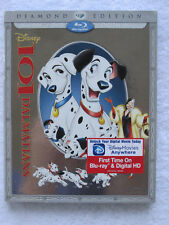 101 Dalmatians (Blu-ray/DVD/Digital Copy, Diamond Edition) **NEW** w/SLIPCOVER