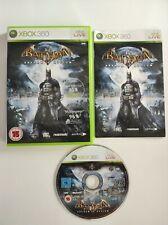 Batman ARKHAM ASYLUM XBOX 360 juego PAL completo con manual