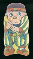 1930-40's Menko Hankyu Railroad Baseball Vintage Japanese Card Diecut Drawing