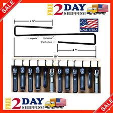 Handgun Organize 4 Hangers Gun Storage Pack Vinyl Coated Safe Room Accessories