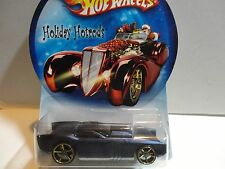 Hot Wheels Holiday Hot Rods Satin Blue The Gov'ner w/OH5 Spoke Wheels